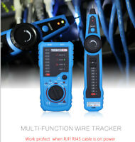 Bside FWT11 RJ11 RJ45 Telephone Network Wire Tracker LAN Cable Tester Cable C