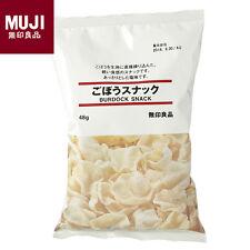 MUJI Burdock Snack 48g Japanese Food Made in Japan Rice Crackers Tasty