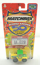 "2001 Matchbox Across America 50 Birthday Series ""Mercedes-Benz Trac 1600 Turbo"""