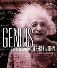 GENIUS: un photobiography di Albert Einstein da marfe Ferguson Delano (RIGIDA)