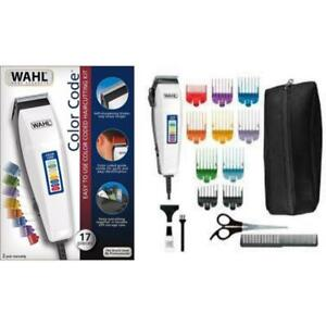 WAHL 9155-2708 17PCS Color Pro 17 Piece Hair Clipper Complete Haircutting Kit
