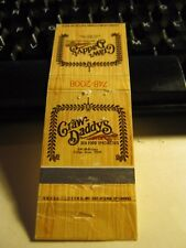 Vintage Craw Daddy's Seafood Specialties McKinney Dallas Texas Empty Matchbook