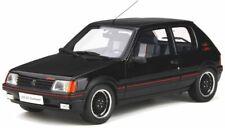 OTTO MOBILE 796 PEUGEOT 205 GTI GUTMANN resin model car black Ltd Ed 1988 1:18th