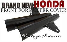 HONDA SS50 CS50 S50 CL50 FRONT FORK COVER HEADLIGHT STAY *BLACK* [V]