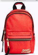 New Marc Jacobs M0014032 Trek Pack Mini backpack Polyster bag logo front