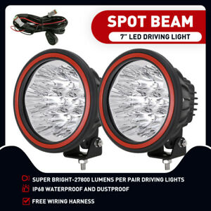 7inch OSRAM LED Driving Lights Spot Lights Round Fog Light HID Headlight Ute Car