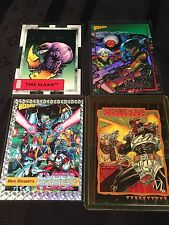 1992 Set of 4 Super Hero Cards The Maxx, Cyber Force, Storm Watch, Milestone