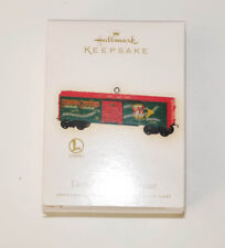 Hallmark Keepsakes-Holiday Box Car -dated 2009