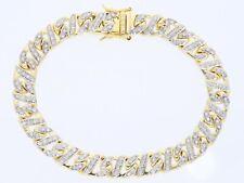 Herren Damen Armband 1,50 Karat Brillanten 750 Gold 18 Karat