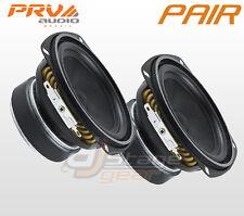 """PAIR PRV Audio 4MR60-4 4"""" Mid Range Woofer - Full Range Loudspeaker - PRV 4 in"""