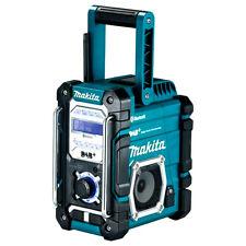 Makita DMR112 Baustellenradio mit DAB + und Bluetooth Akkubetrieb/Netzbetrieb