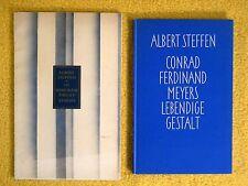 2 x Albert Steffen - Rudolf Steiner / C.F. Meyer - Anthroposophie