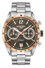 Roamer Mens Swiss Made Watch Superior Chrono II 510902 49 64 50 NEW