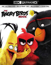 The Angry Birds Movie (4K Ultra HD+3D Blu-ray+Blu-ray+Digital HD) FREE SHIPPING.