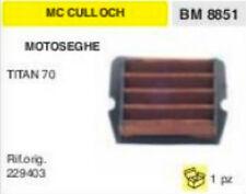 229403 FILTRO ARIA MOTOSEGA McCULLOCH TITAN 70