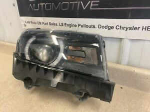 14 15 Chevrolet Camaro SS Passenger Right Headlight Assembly GM 23187856 LED