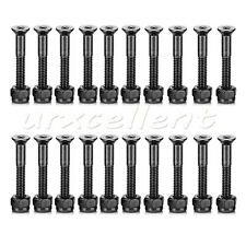 20pcs 29mm Skateboard Deck Mounting Hexagon Hardware Screws Truck Carbon Steel