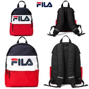 Fila Unisex Mens Womens Myna OR Arda Sports Travel Shoulder Backpack Rucksack