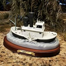 New WDCC Disney Mickey 70th Birthday Steamboat Willie Boat Enchanted Places COA