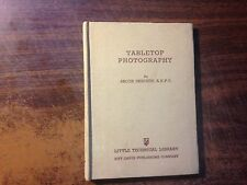 Tabletop Photography by Jacob Deschin 1st Hardcover 1941