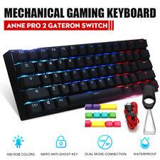 Anne PRO 2 bluetooth RGB Mechanical Gaming Keyboard USB Wired APP Control Light