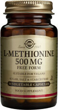 Solgar L-Methionine 500mg 30 Vegetable Capsules