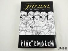 The Making of Fire Emblem 25th Anniversary Development Artbook Japan US Seller