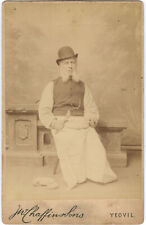 Cabinet Card : Occupational Portrait 1890s'
