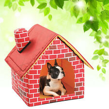 Pet Dog Cat Bed Cushion House Pet Soft Warm Kennel Dog Blanket House Selling ~