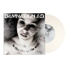 Damnation A.D. ‎- In This Life Or The Next LP WHITE VINYL - sealed new copy PUNK