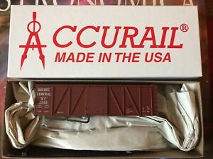 Accurail HO 11691 Quebec Central 36' Fowler Wood Boxcar - New!