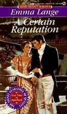 A Certain Reputation (Signet Regency Romance)