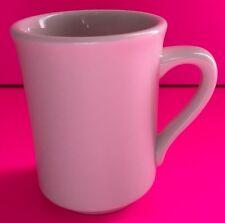 "Syracuse China Restaurant Ware  Coffee Cup/ Mug White 4"" Tall 3"" Diameter"