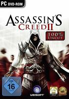 Assassins Creed II / 2 für PC | KOMPLETT IN DEUTSCH | UPLAY CD KEY DLC CODE