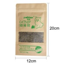 100% Natural Organic Catnip Premium Top Blend  **Works**   10g (0.35 oz) bag