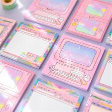 1pc Memo Pad Paper Sticker Kawaii Sticky Notes DIY Scrapbooking Sticker Message