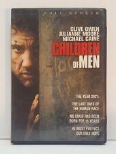 Children of Men (DVD, 2007, Full Frame)