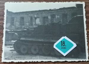 Orig.Foto Tiger I Panzer Ruine