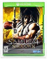 Samurai Shodown - Xbox One - Brand New   Factory Sealed