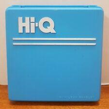 Vintage Hi-Q Solitaire Milton Bradley Travel Game 1986 All Pieces Retro MB Toy