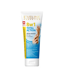 Eveline Total Action 8in1 Hand and Nail Cream Mask SOS for 8 Problems of  Skin