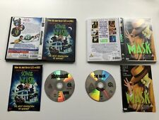 THE MASK & SON OF THE MASK DOUBLE DVDS