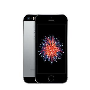 "Original Unlocked Refurbished Apple iPhone SE Smartphone 16/64GB 4"" Mobile Phone"