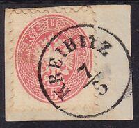1864 5kr, KREIBITZ (Böhmen) Stempel. Schönes Stück!