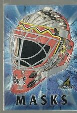 1997-98 Pinnace - JEFF HACKETT - Dufex Masks Insert #7 of 10  CHICAGO BLACKHAWKS