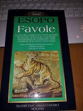 ESOPO FAVOLE la raccolta completa dei celebri apologhi -testo grego a fronte int