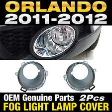 OEM Genuine Parts Fog Light Lamp Cover 2Pcs For CHEVROLET 2010-2016 Orlando