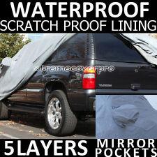 2000 2001 2002 2003 GMC Yukon 5LAYERS WATERPROOF Car Cover