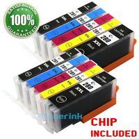 10 pack Ink For Canon Pgi-280 xxl CLI-281 xxl Pixma TS6120 TS9120 TS8120 TR7520