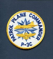 PATROL PLANE COMMANDER LOCKHEED P-3 P-3C ORION IP US Navy Patrol Squadron Patch